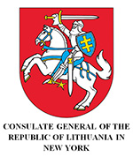 Logo Fundacja lg Lithuanian Consulate General NYC